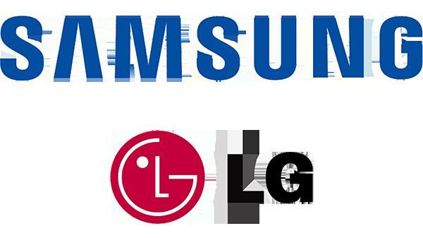 SAMSUNG a LG