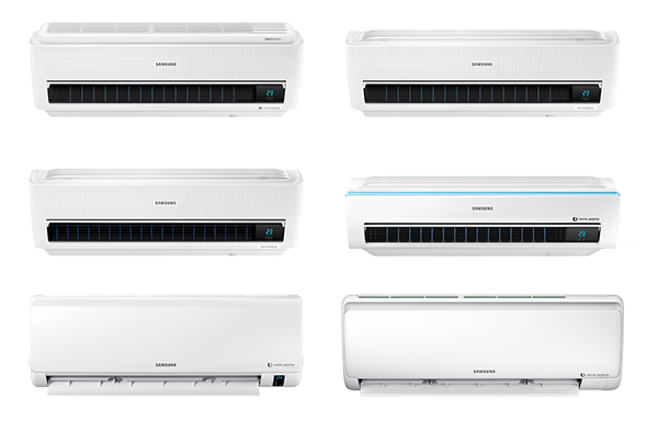 Nástěnné jednotky Samsung